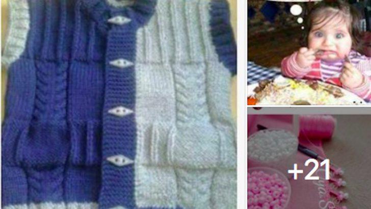 Minik Yavrularınıza Harika Örgü Kazak Modelleri