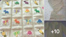 Bebek Battaniyeleri Ve Örgü Kazaklar