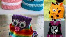 Kız ve Erkek Çocuklar İçin Rengarenk Sırt Çantaları