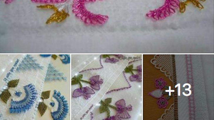 Rengarek ve Gösterişli Havlu Kenarı Modelleri