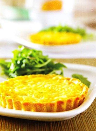 Tatlı Patatesli Karam Elize Soğanlı Tartölet