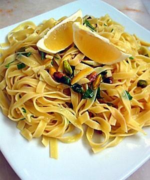 Limonlu & Fıstıklı Makarna