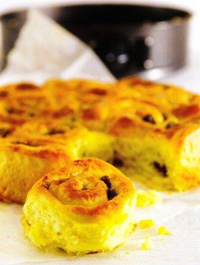 İsveç Kahvaltı Çöreği