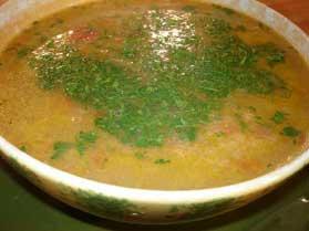 Bulgurlu Mercimek Çorbası