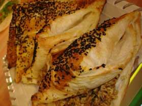 Tavuklu Zarf Böreği
