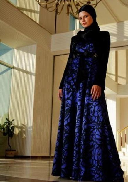 2012 Tesettür Abiye Modelleri