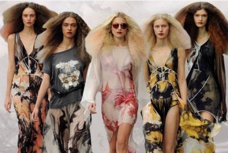 Yazlik Şifon Elbise Modelleri