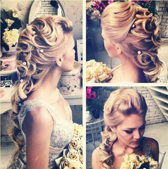 2013 Gelin Saç Modelleri