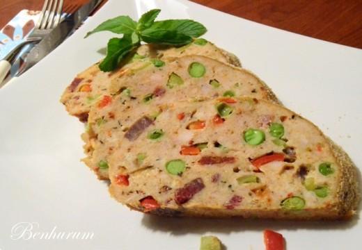 Sebzeli ve Pastırmalı Tavuk Rosto