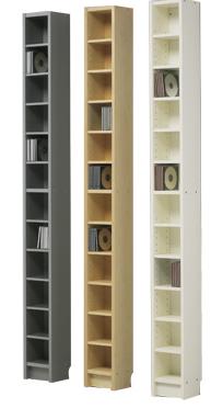 Ikea Yüksek Boy Kitaplık Ve Dvd Raf Modelleri