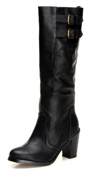 24310fba9b3df siyah sivri topuklu dsn bayan çizme modeli | KadınlarPlatformu.Com