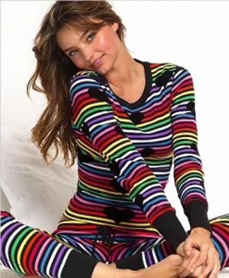 Bayan Kışlık Pijama Modelleri