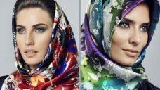 Aker Eşarp Başörtüsü Modelleri