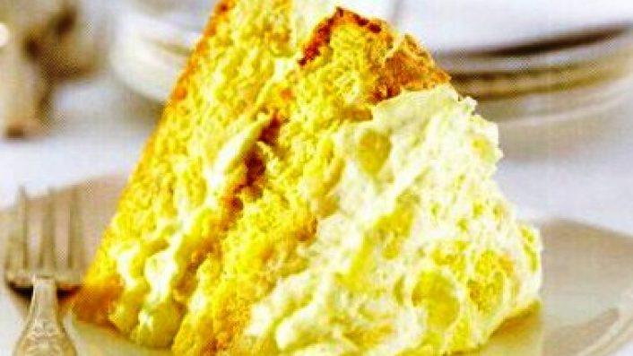 Ananaslı Beze Pastası