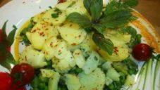 Baklalı Bahar Salatası