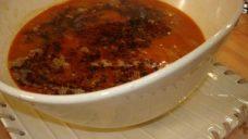Erişteli Patates Çorbası