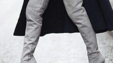 Bayan Süet Çizme Modelleri