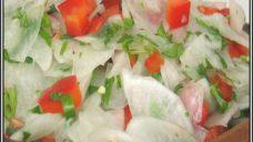 Havuç Turp Salatası