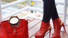 Kırmızı Yüksek Topuklu Ayakkabı Modelleri