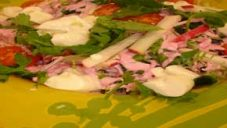 Pembe Soslu Ocak Salatası