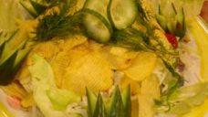 Peynirli Cipsli Salata