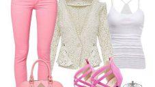 Renkli Bayan Pantolon Modelleri