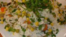 Sebzeli Pirinç Salatası