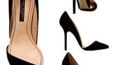 Siyah Yüksek Topuklu Ayakkabı Modelleri