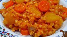 Buğdaylı Sebze Yemeği