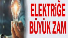 Elektriğe Zam