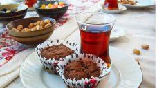 Flakefestli kakaolu muffin