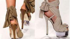 Topuklu Bayan Ayakkabı Modelleri 2013