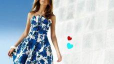 Yazlık Straptez Elbise Modelleri
